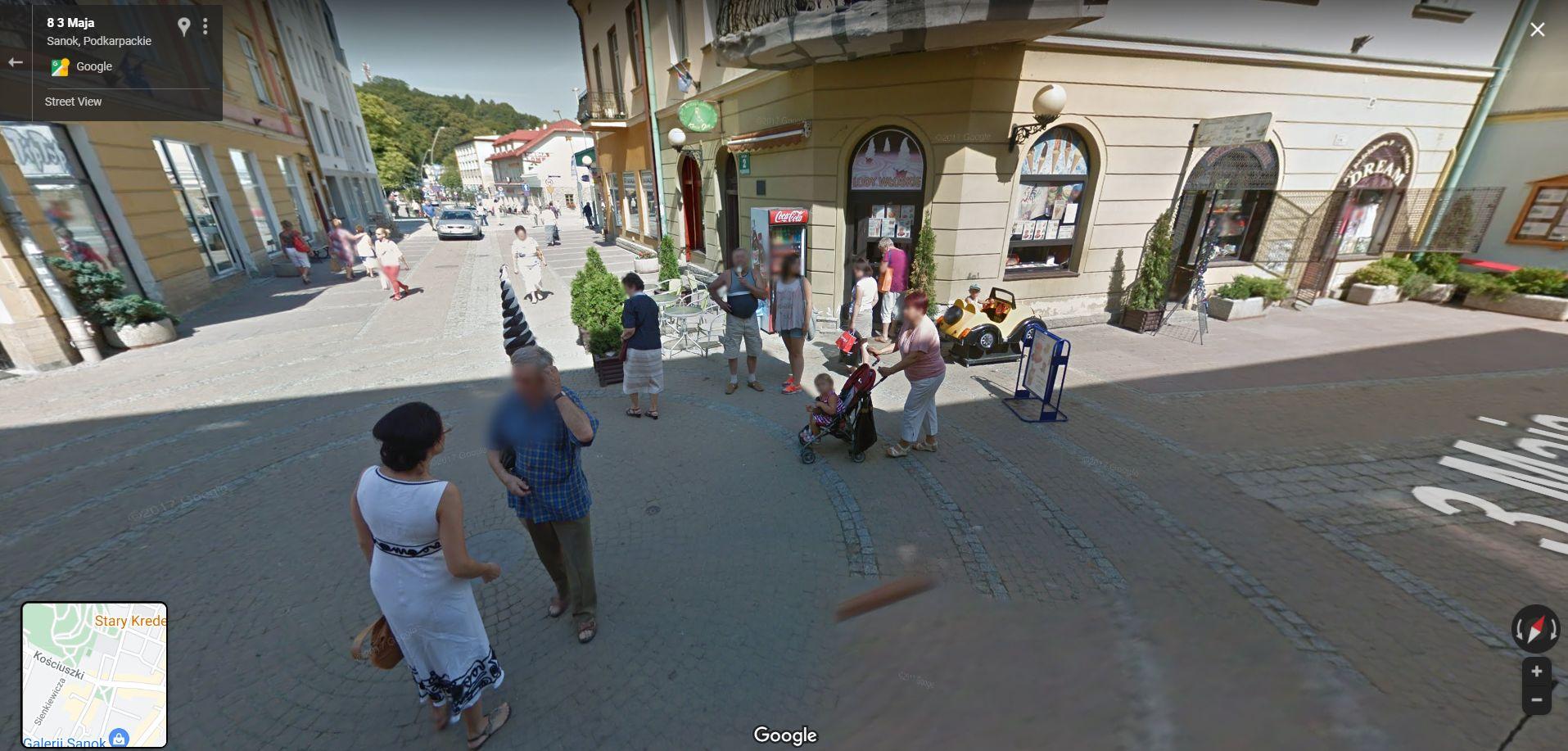 Kamera Google Street View na Podkarpaciu. Zobacz zdjęcia z Sanoka - Zdjęcie główne