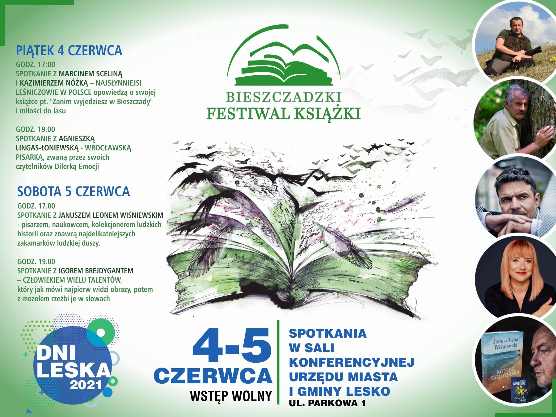 Lesko zaprasza na Bieszczadzki Festiwal Książki - Zdjęcie główne