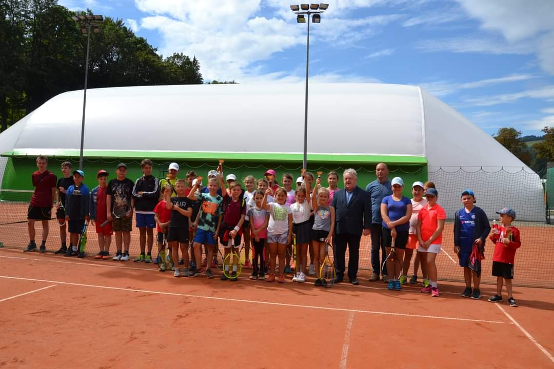 Wakacyjny Turniej Tenisa Dzieci i Młodzieży o Puchar Burmistrza Rymanowa [FOTO] - Zdjęcie główne