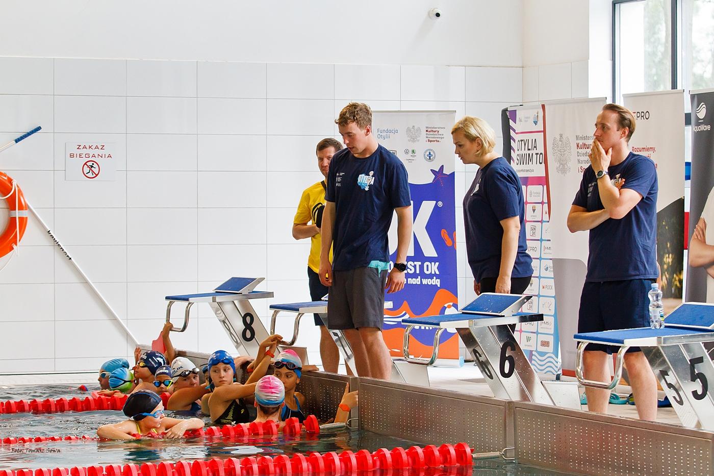 """""""Otylia Swim Tour"""" na sanockim basenie [ZDJĘCIA] - Zdjęcie główne"""