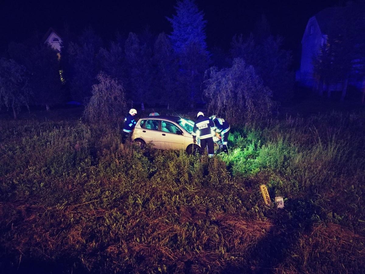 Z OSTATNIEJ CHWILI: Wypadek samochodu w Zarszynie. Poszkodowane dziecko FOTO - Zdjęcie główne