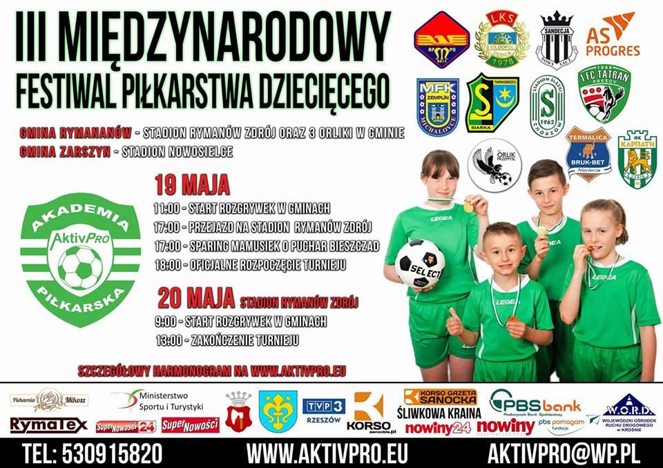 III Międzynarodowy Festiwal Piłkarstwa Dziecięcego [AKTUALIZACJA] - Zdjęcie główne