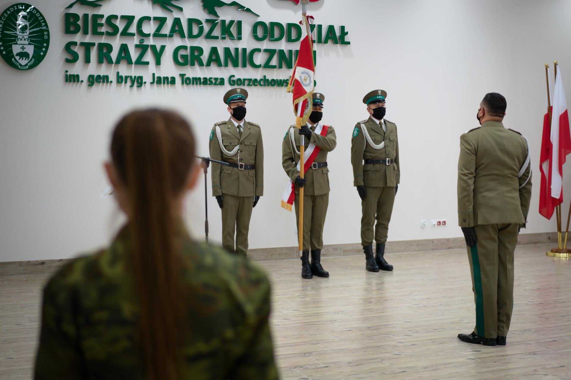 Podkarpacie. Funkcjonariusze Straży Granicznej uroczyście złożyli rotę ślubowania [FOTO] - Zdjęcie główne