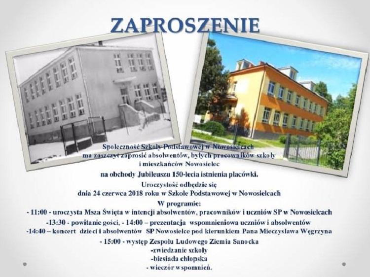 150-lecie SP Nowosielce - Zdjęcie główne
