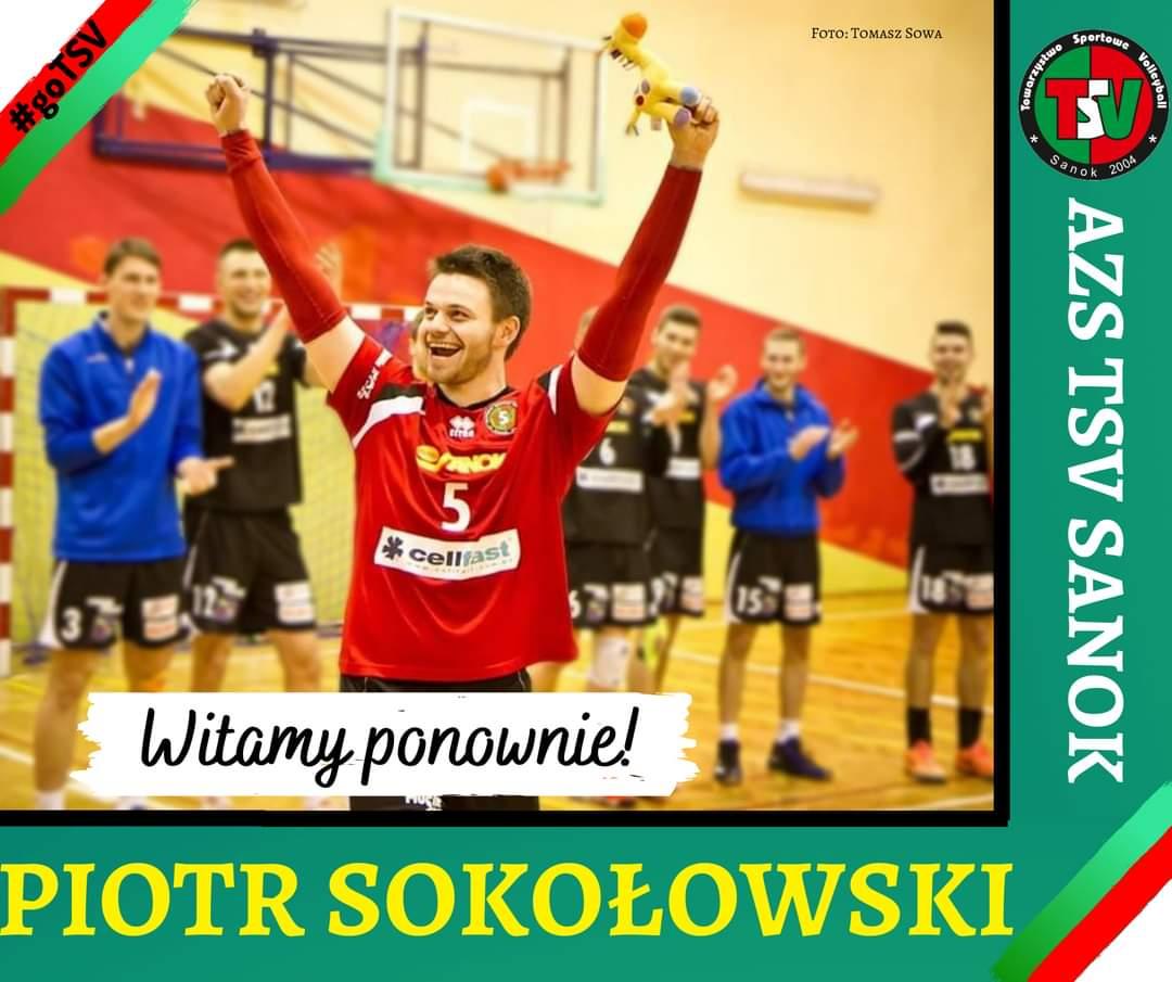 Piotr Sokołowski wzmacnia AZS TSV Sanok - Zdjęcie główne