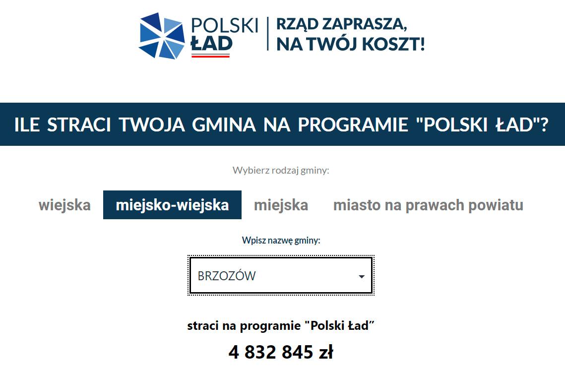 """""""Ile straci Twoja gmina na programie Polski Ład"""" - Sprawdź kalkulator on-line! - Zdjęcie główne"""