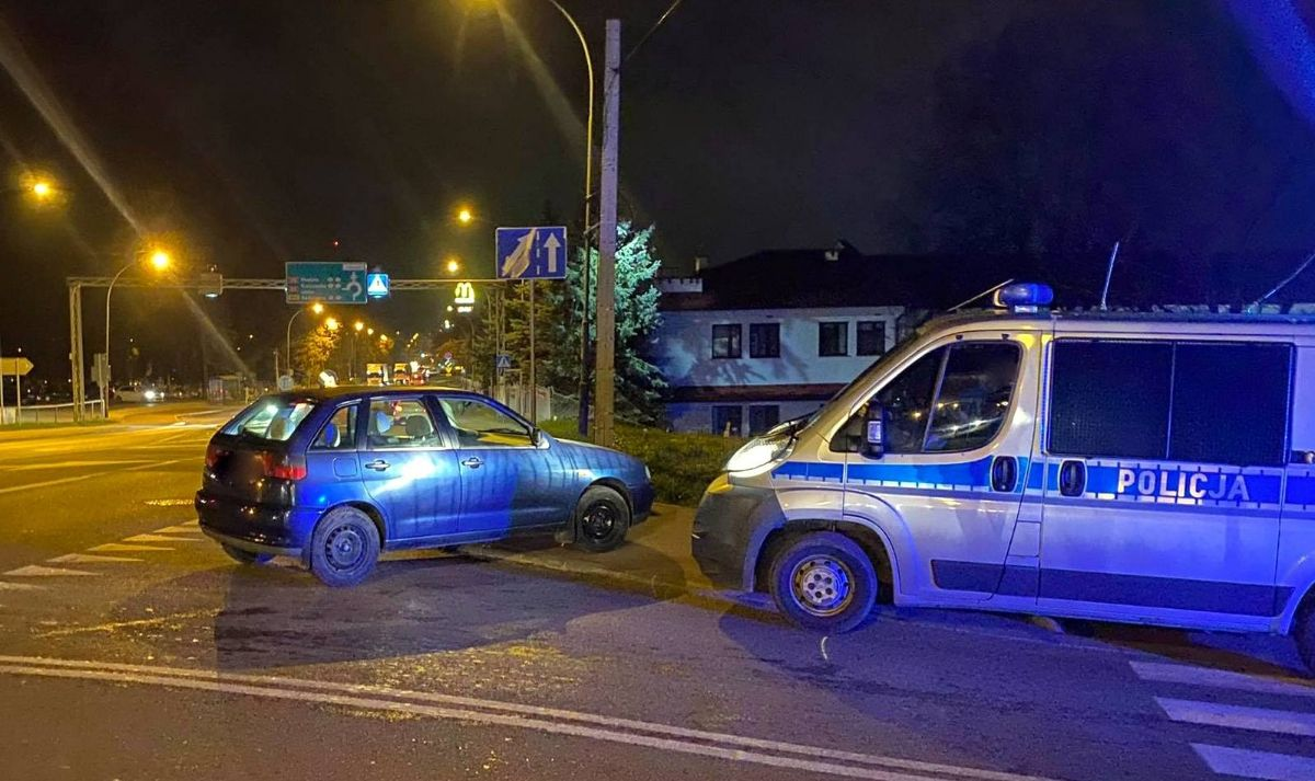 SANOK: Udaremnił dalszą jazdę nietrzeźwemu kierowcy [FOTO] - Zdjęcie główne