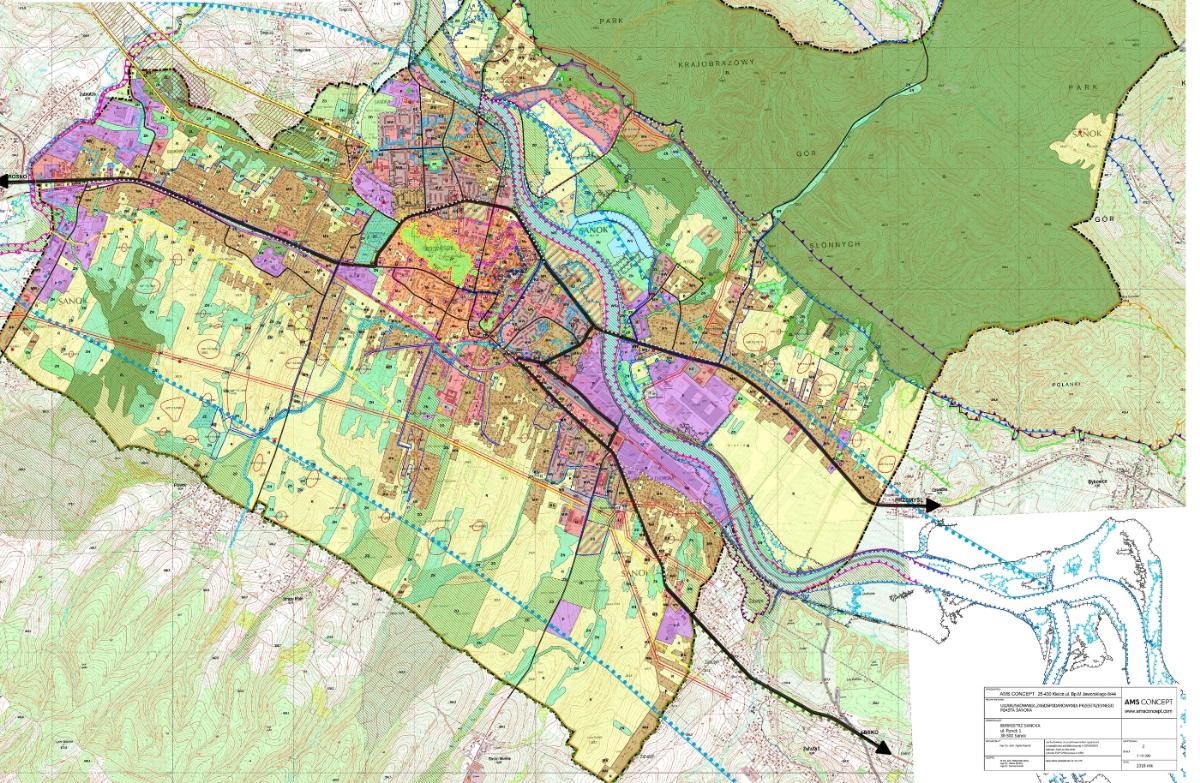 Nowe granice miast na Podkarpaciu. Opublikowano projekt zmian również dla Sanoka - Zdjęcie główne