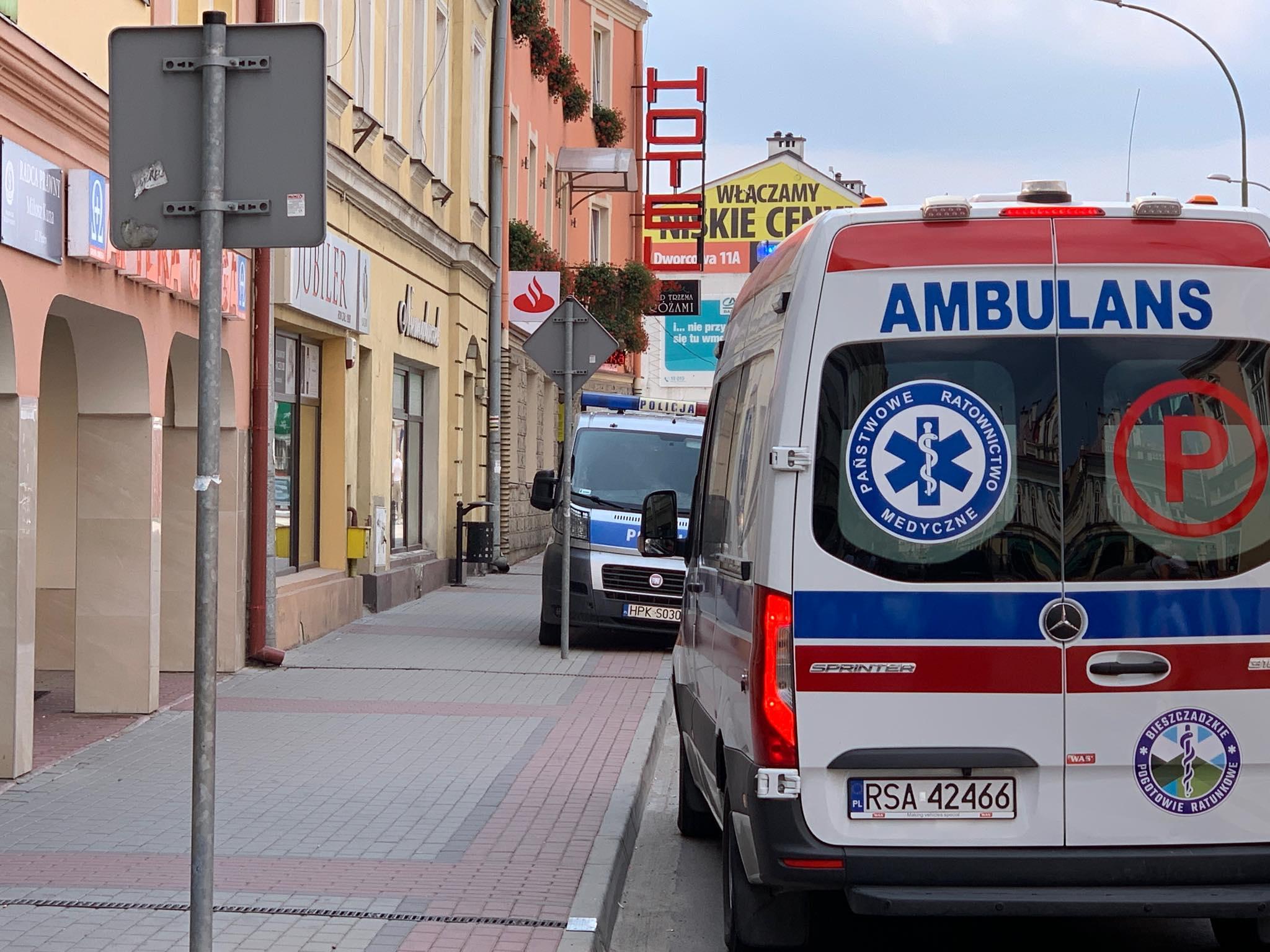 SANOK: 4 letnie dziecko wypadło z balkonu na ul. Jagiellońskiej! [ZDJĘCIA] - AKTUALIZACJA - Zdjęcie główne