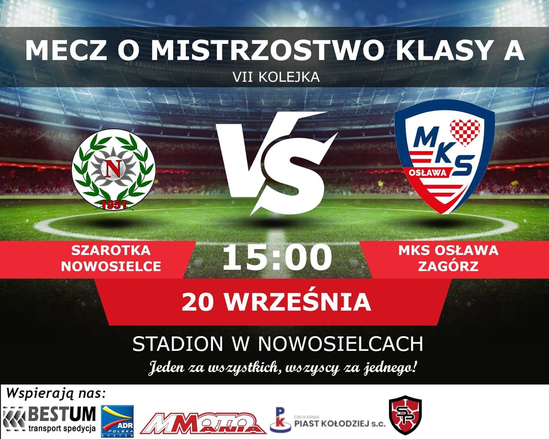 Osława Zagórz zagra dzisiaj w Nowosielcach z Szarotką w A klasie [VIDEO] - Zdjęcie główne