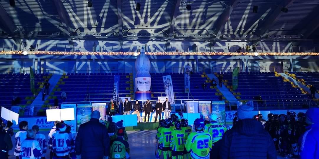 Dwa zwycięstwa Niedźwiadków na początek turnieju w Krynicy - Zdjęcie główne