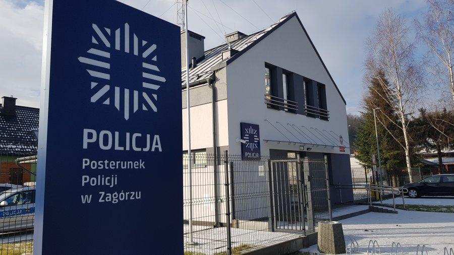 Nowa siedziba Posterunku Policji w Zagórzu [FOTO] - Zdjęcie główne