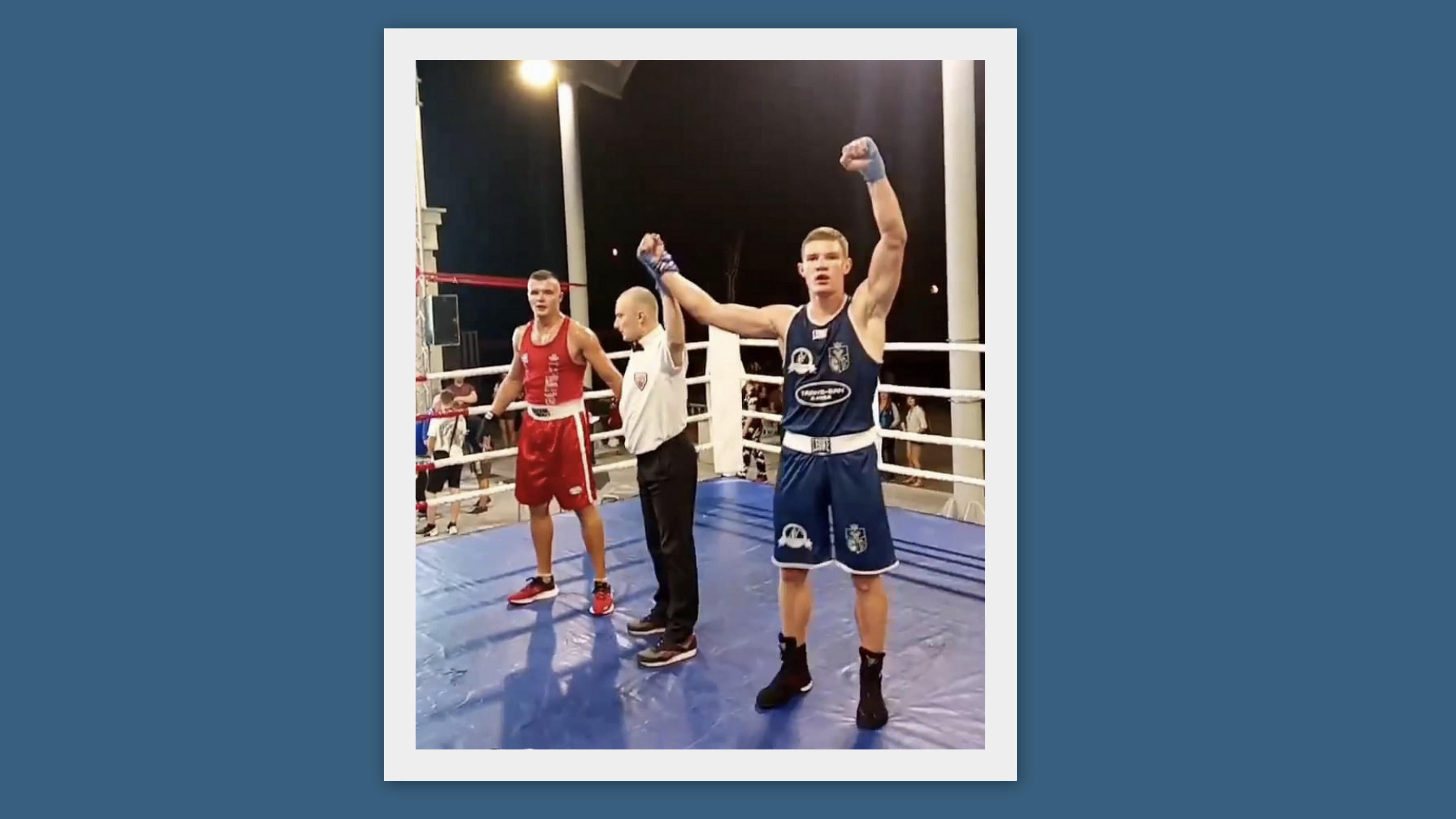Kolejny bokserski sukces Adama Tutaka z Samuraj Sanok! - Zdjęcie główne