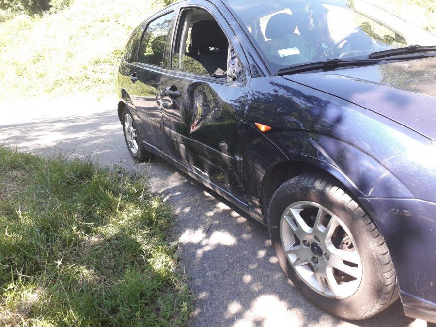 Z REGIONU: Pijany motocyklista spowodował kolizję [FOTO] - Zdjęcie główne