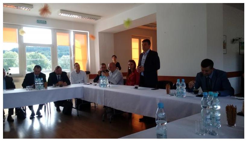 Konwent wójtów i burmistrzów Powiatu Sanockiego - Zdjęcie główne