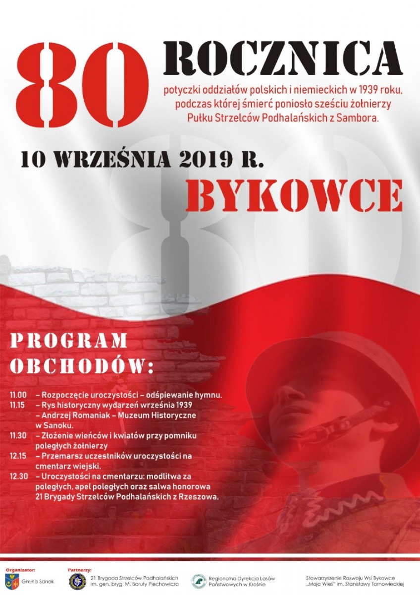 BYKOWCE: 80 rocznica wydarzeń z 10 września 1939 - rys historyczny z 1939 r [FOTOGRAFIE] - Zdjęcie główne