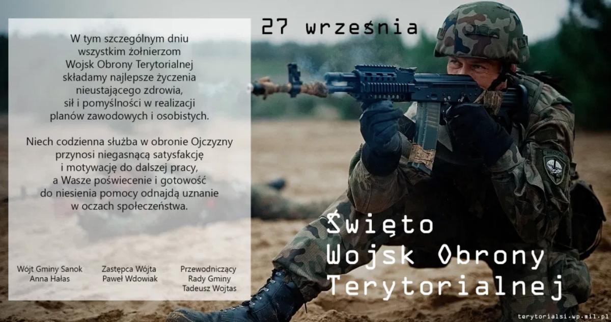 Święto Wojsk Obrony Terytorialnej!  - Zdjęcie główne