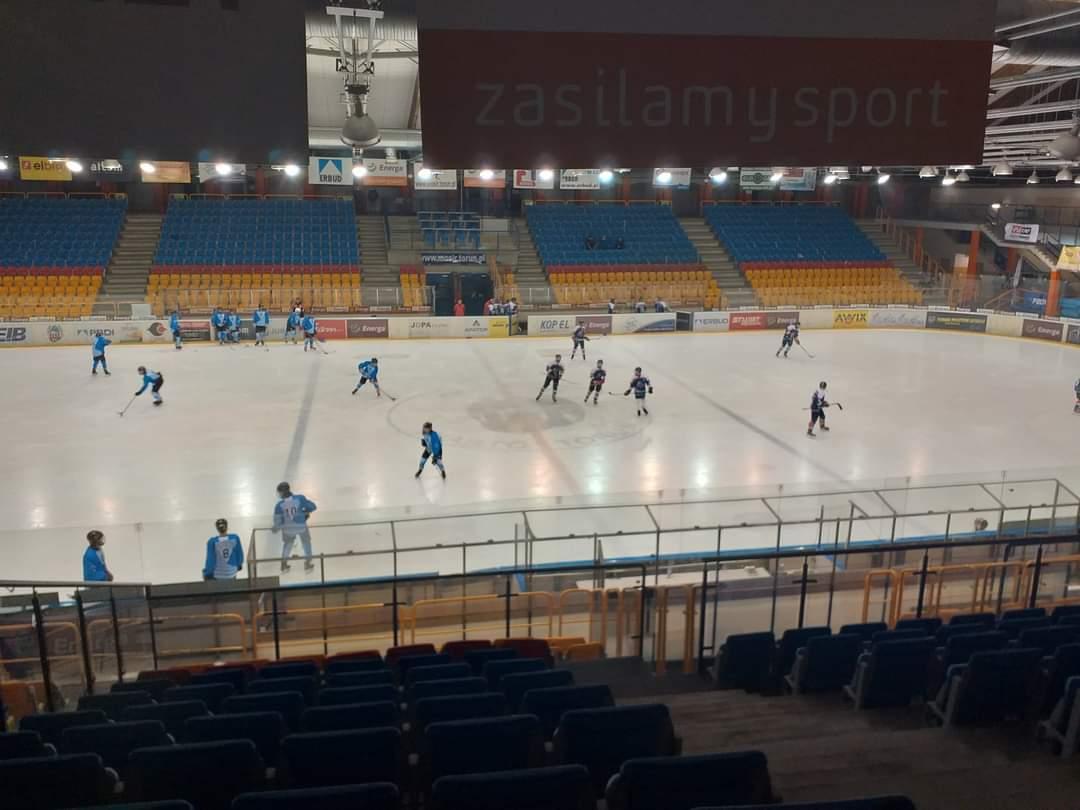 Zwycięstwa OSM Sanok w hokejowym turnieju młodzików - Zdjęcie główne