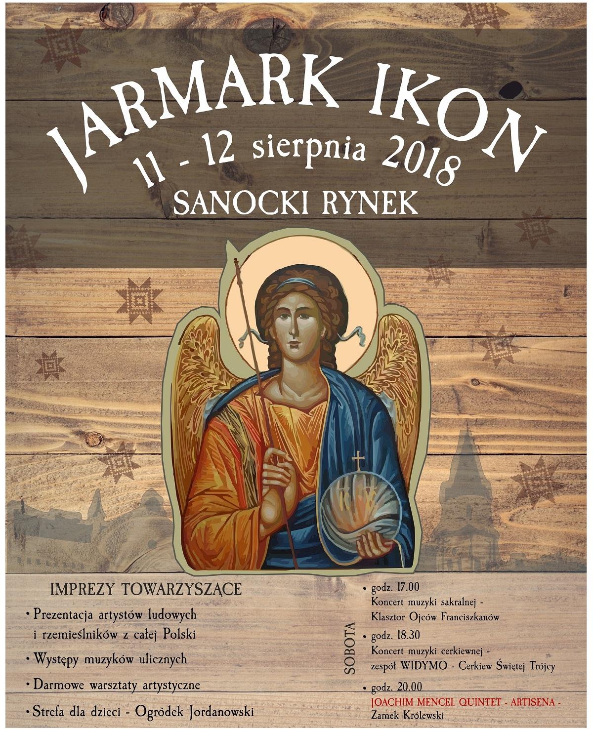SANOK: Zbliża się Jarmark Ikon. W tym roku potrwa dwa dni!  - Zdjęcie główne