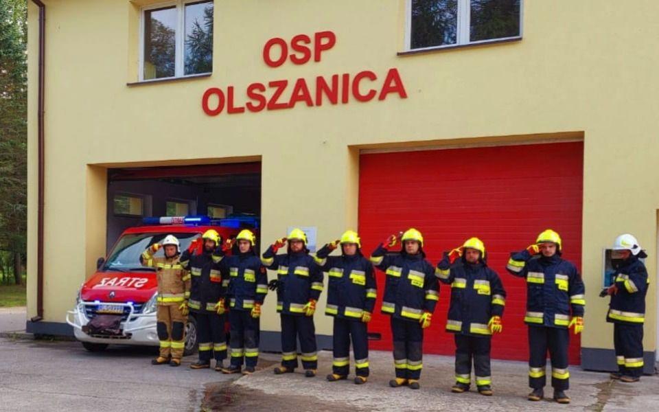 Pomóż tym co pomagają na co dzień. Trwa zbiórka dla OSP Olszanica - Zdjęcie główne