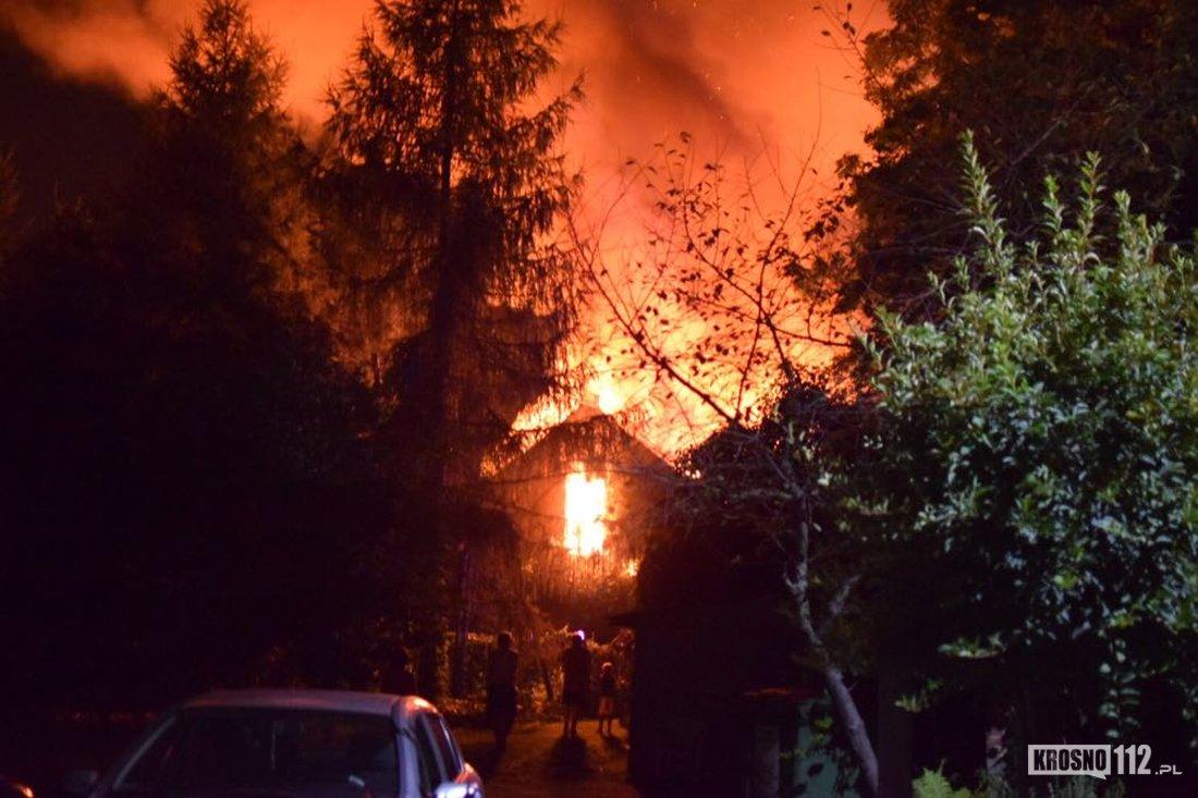 REGION: Wielki pożar pustostanu [FOTO] - Zdjęcie główne
