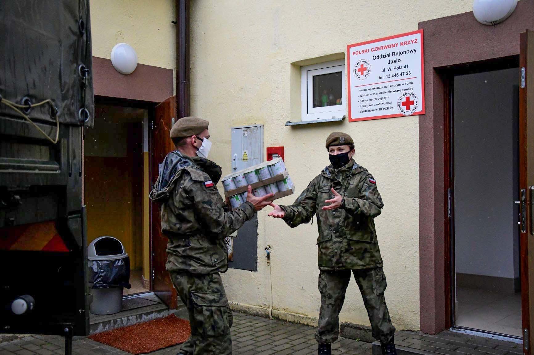 Terytorialsi podpisali porozumienie o współpracy z Caritas Diecezji Rzeszowskiej - Zdjęcie główne