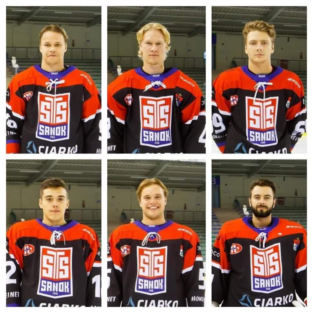 Sześciu sanockich hokeistów związało się z Hockey Progress Management - Zdjęcie główne
