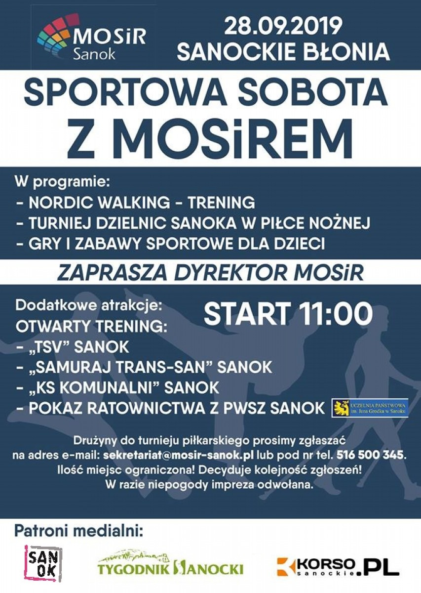 Sportowa Sobota z MOSiR-em! Moc atrakcji sportowych dla dużych i małych! - Zdjęcie główne