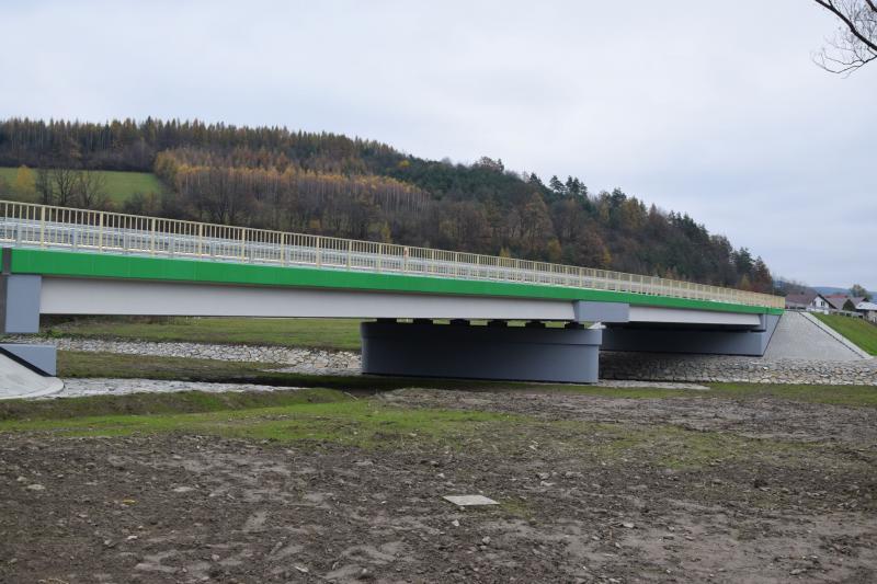 Tyrawa Solna. Zakończenie pracy przy budowie mostu [FOTO] - Zdjęcie główne