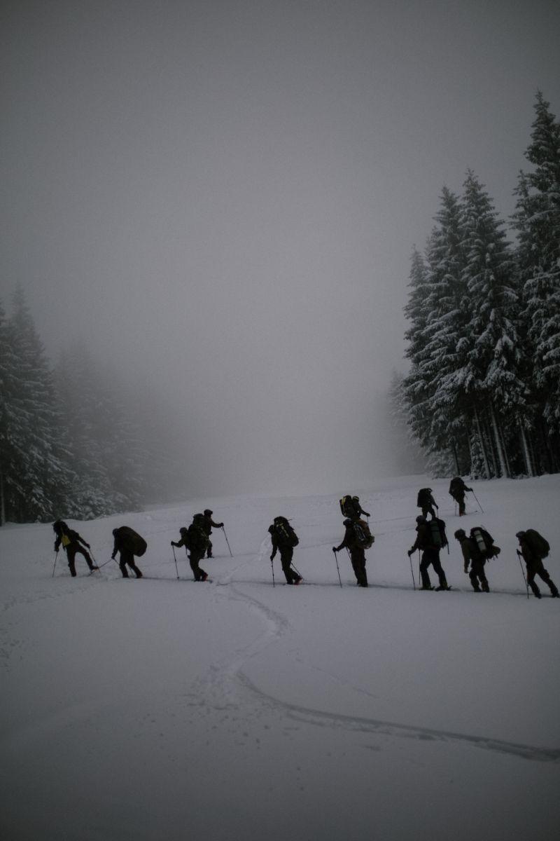 Szkolenie zwiadowców brygady w czasie zimy [ZDJĘCIA] - Zdjęcie główne