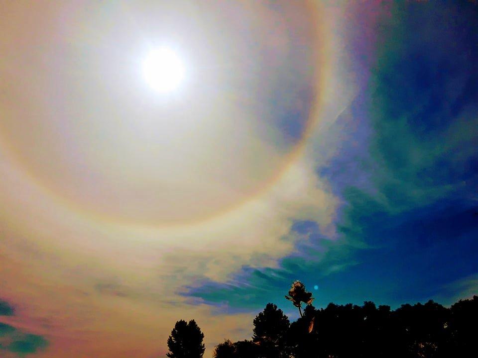 Zachwycający efekt HALO nad Sanokiem [ZDJĘCIA] - Zdjęcie główne
