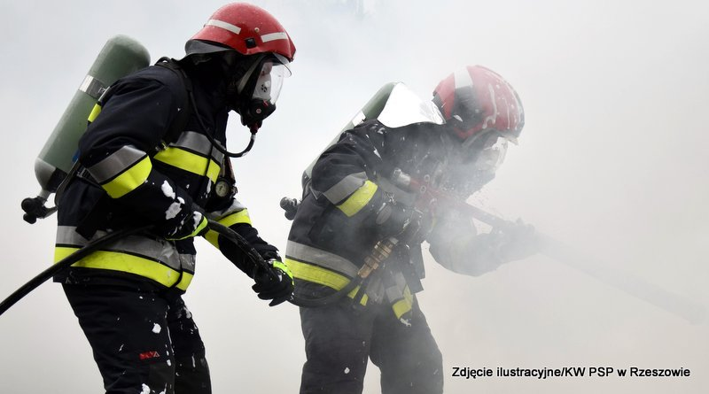 Z PODKARPACIA. 70-latek spłonął w pożarze domu - Zdjęcie główne