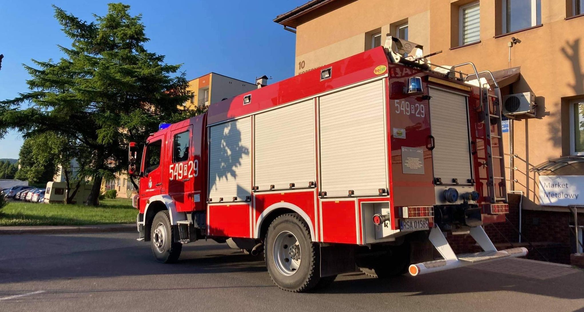 Nawałnica nad powiatem sanockim. Strażacy wyjeżdżali aż 28 razy!  - Zdjęcie główne