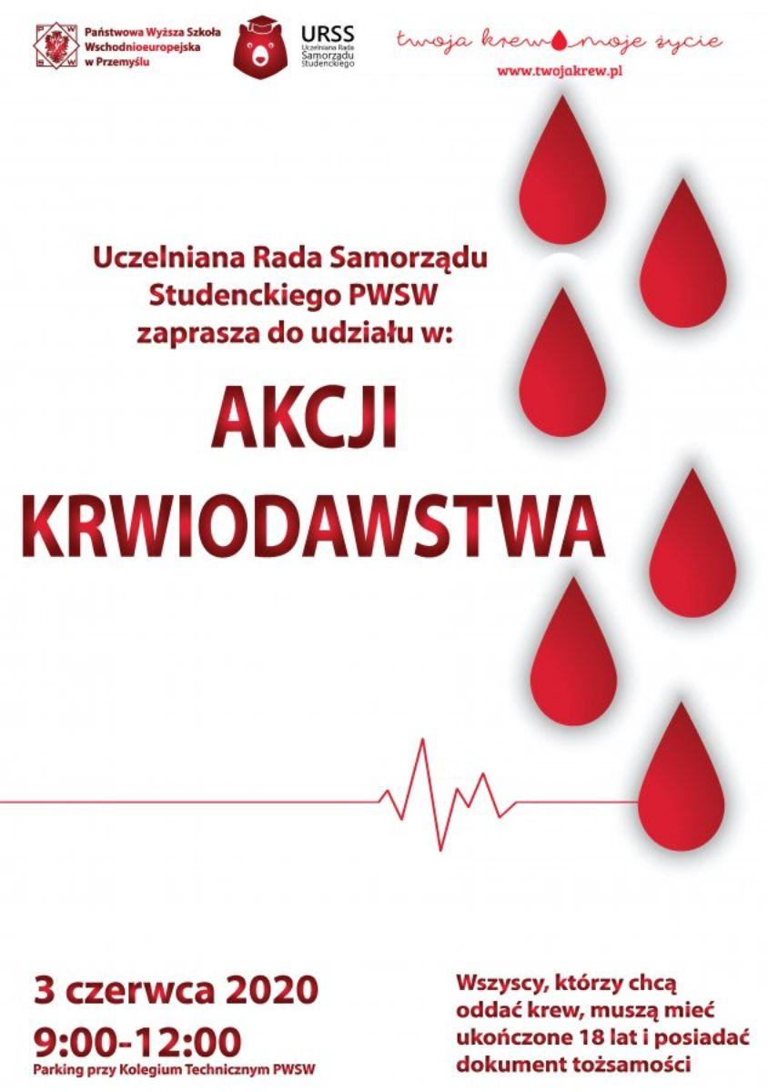 Pilnie potrzebna krew! Krwiobus pojawi się w Przemyślu - Zdjęcie główne