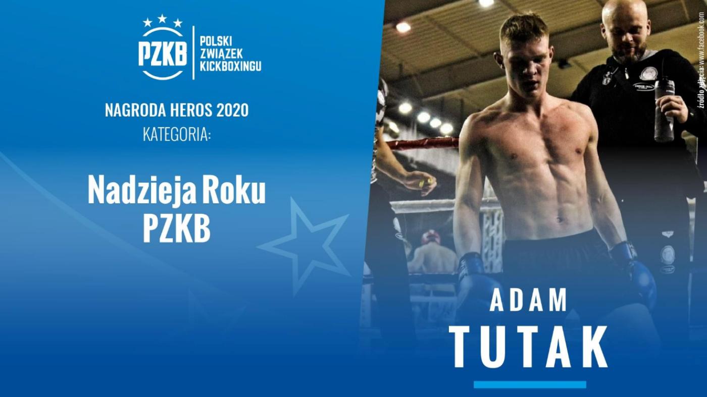 Adam Tutak HEROSEM Polskiego Związku Kickboxingu  - Zdjęcie główne