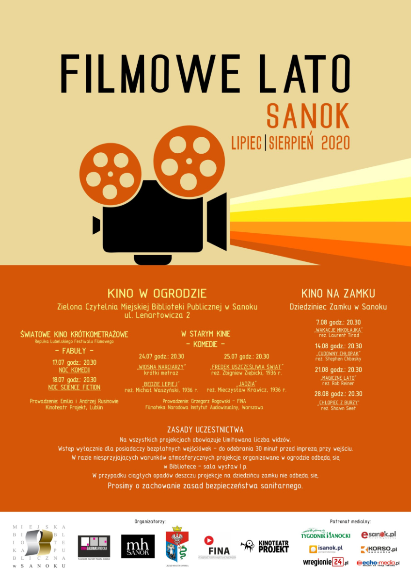 Filmowe lato w Sanoku - Zdjęcie główne