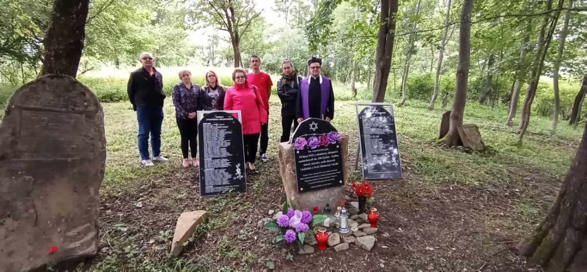 78. rocznica mordu Żydów w Woli Michowej [FOTO] - Zdjęcie główne