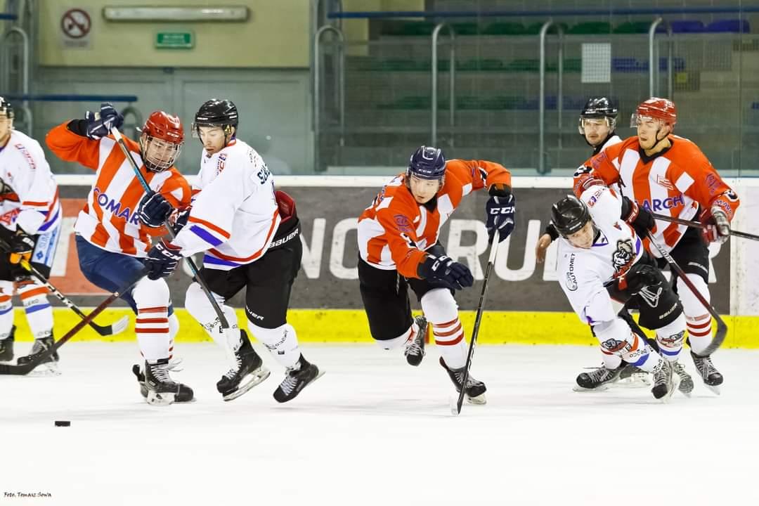 Drugie weekendowe zwycięstwo Niedźwiadków w Młodzieżowej Hokej Lidze - Zdjęcie główne