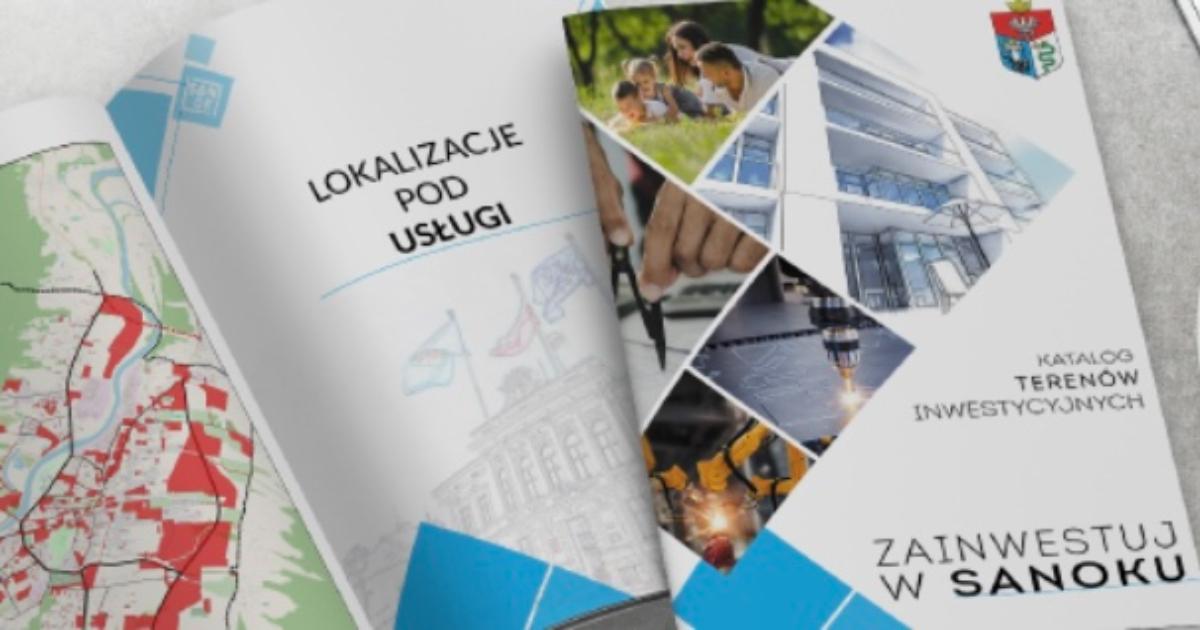 Sanok. Folder inwestycyjny mający na celu przyspieszyć rozwój miasta  - Zdjęcie główne