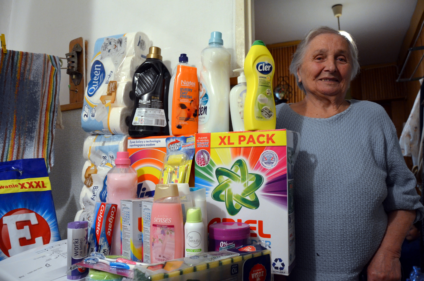 Sanoczanie mają cudowne serca! 84-letnia staruszka ma nową pralkę i lodówkę [ZDJĘCIA] - Zdjęcie główne