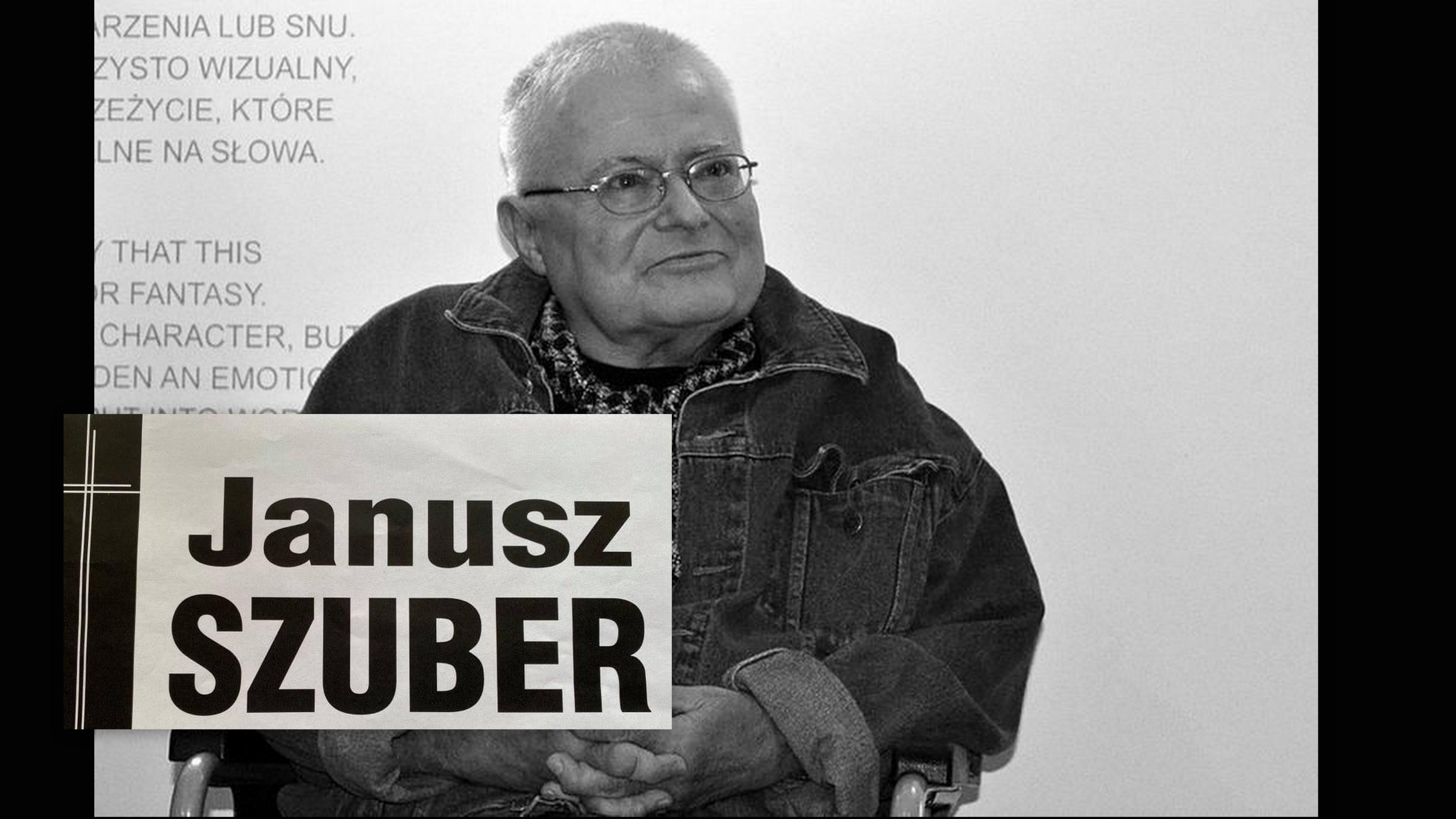 Wyznaczono datę pogrzebu Janusza Szubera - Zdjęcie główne