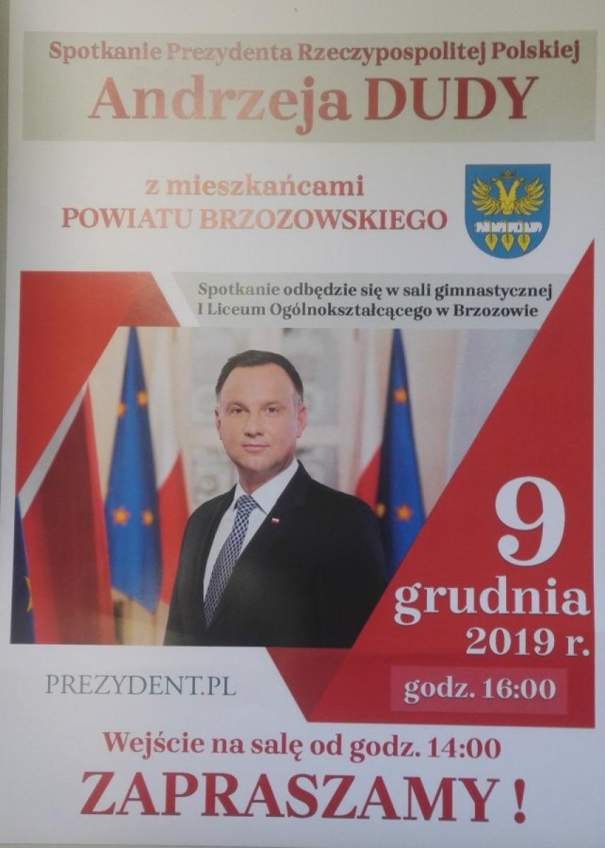 UWAGA: Utrudnienia związane z wizytą Prezydenta Polski w Brzozowie - Zdjęcie główne
