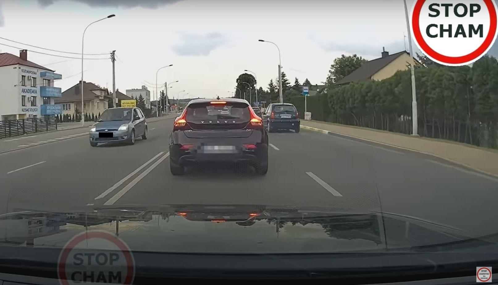 Co stało się na jednej z podkarpackich dróg? Nagranie hitem internetu - Zdjęcie główne
