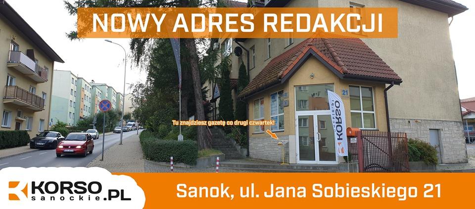 UWAGA: Zmieniliśmy adres naszej redakcji! - Zdjęcie główne