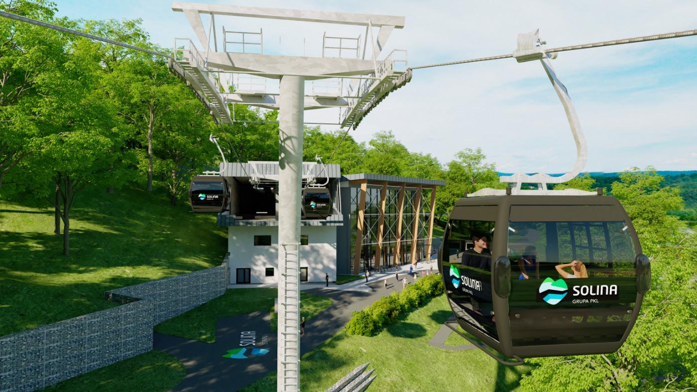 Zobacz jak będzie wyglądała kolejka gondolowa nad Soliną [ZDJĘCIA+WIDEO] - Zdjęcie główne