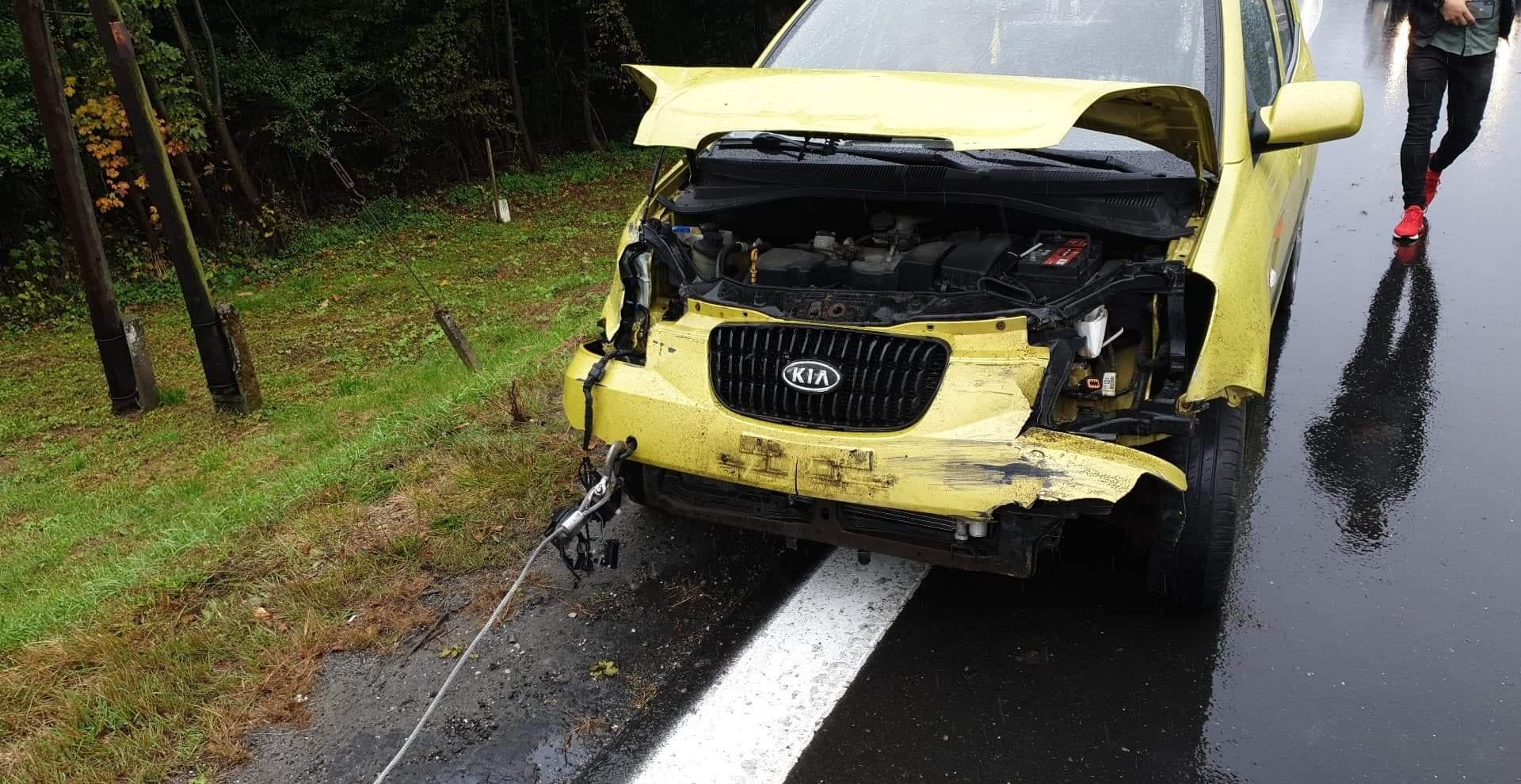Z OSTATNIEJ CHWILI: Wypadek w Glinnem [ZDJĘCIA+VIDEO ] - Zdjęcie główne