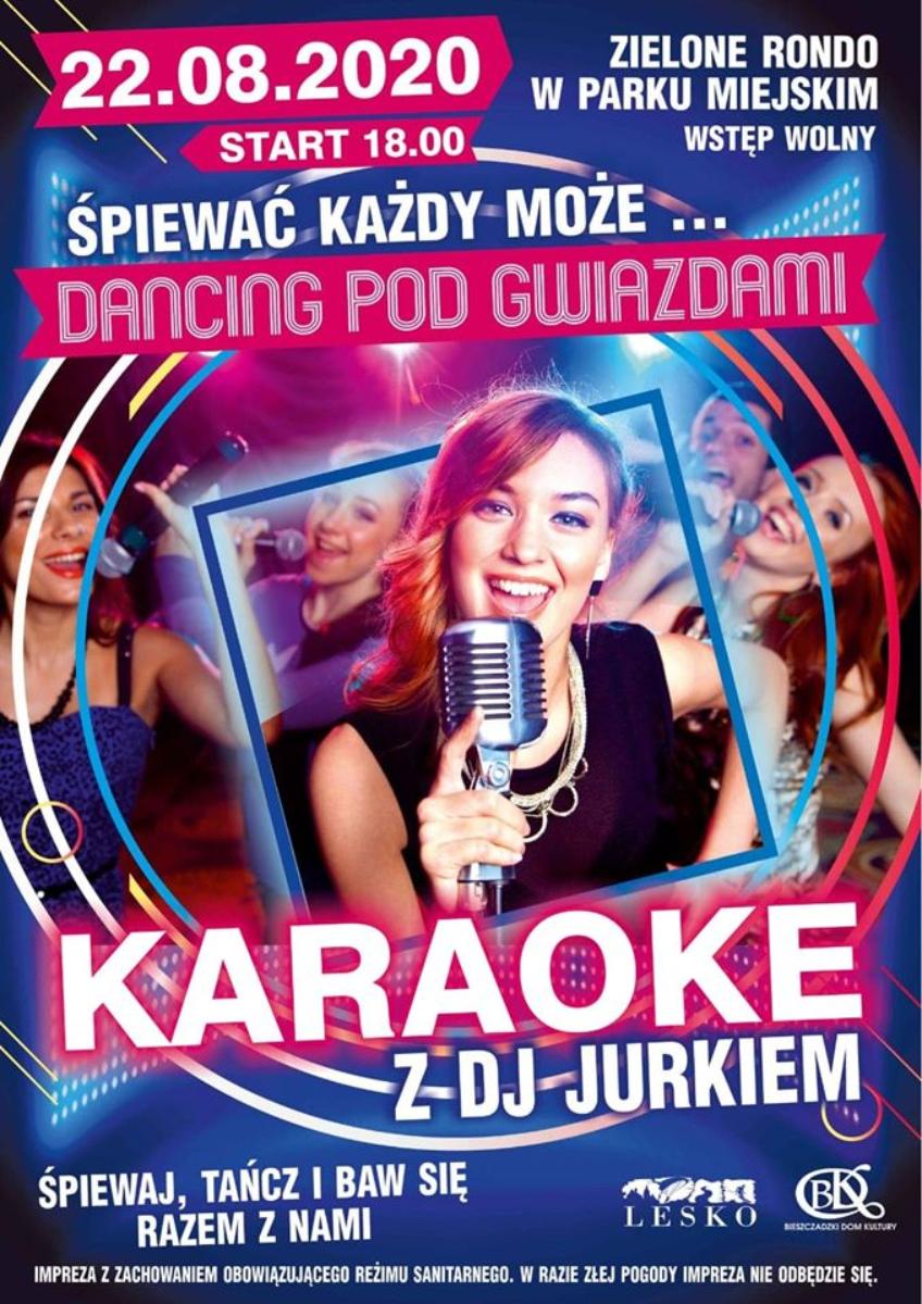 Lesko. Wieczór karaoke i Dancing Pod Gwiazdami - Zdjęcie główne