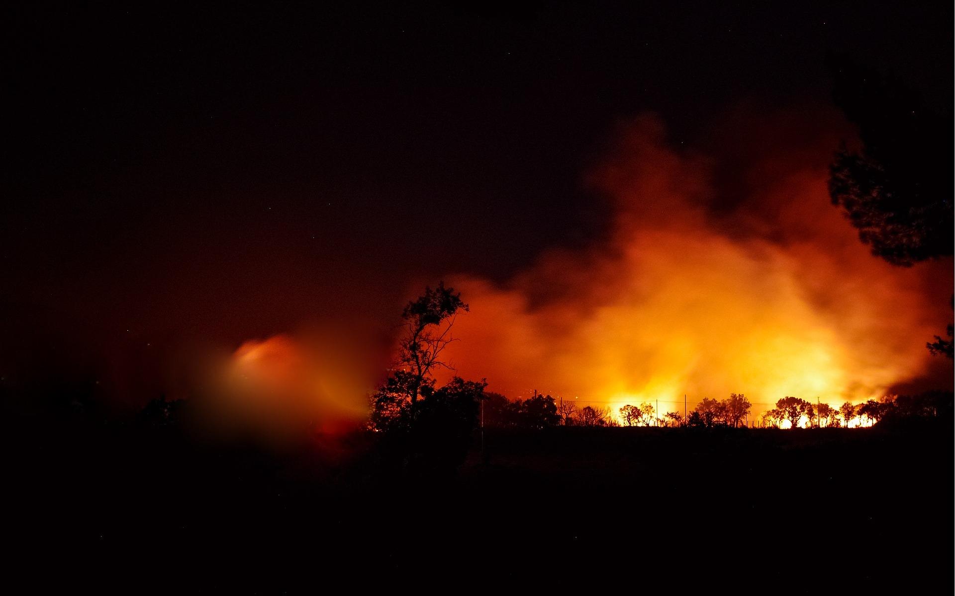 BIESZCZADY: Spalił się ośrodek Rejdychówka w Manastercu [FOTO+VIDEO] - Zdjęcie główne