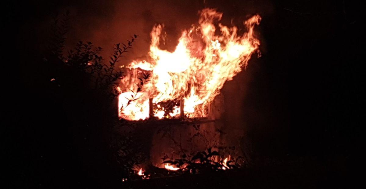 TERAZ! Pożar na Posadzie [FOTO+VIDEO] - Zdjęcie główne
