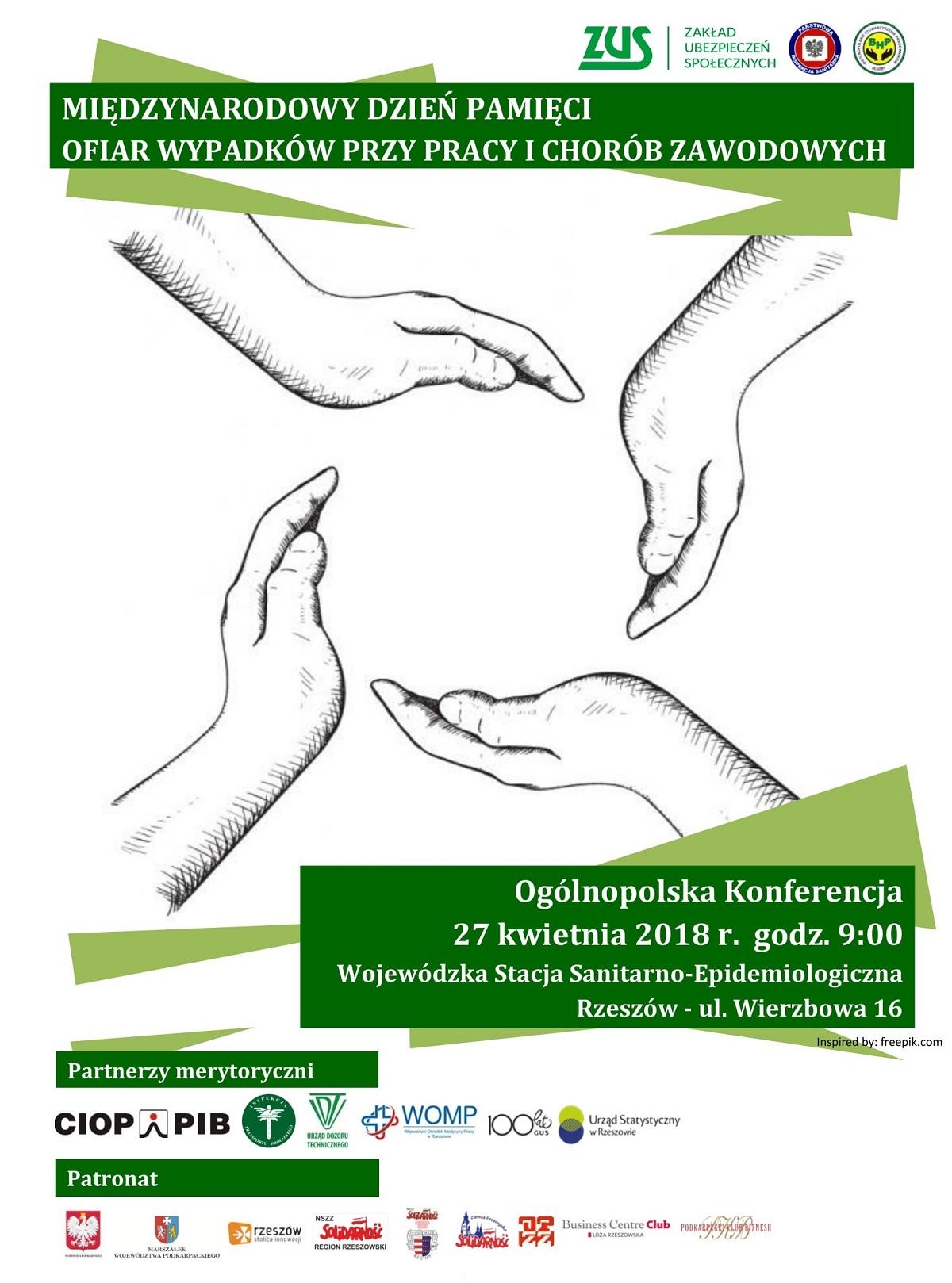 Międzynarodowy Dzień Pamięci Ofiar Wypadków Przy Pracy i Chorób Zawodowych - Zdjęcie główne